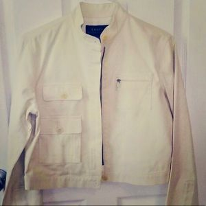 Ralph Lauren Off White Jacket - Fully Lined